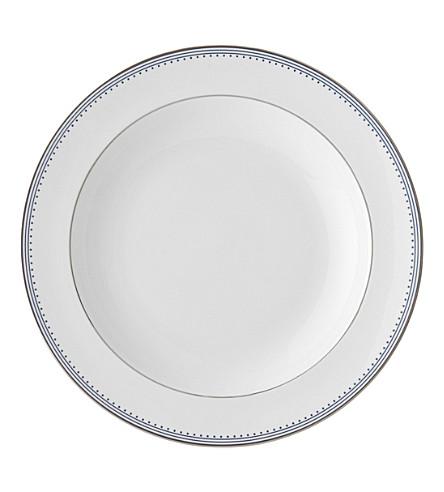 VERA WANG @ WEDGWOOD Border-trim China soup plate