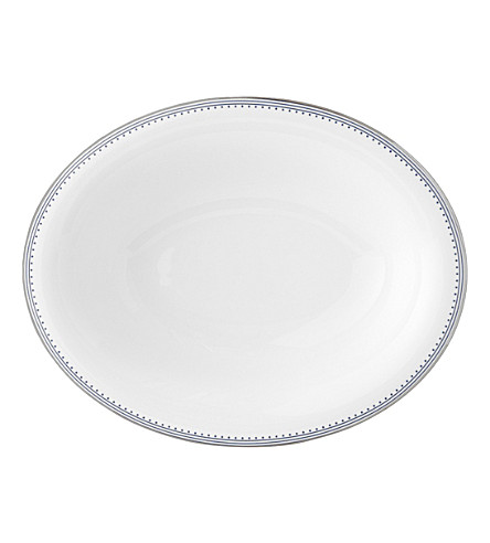 VERA WANG @ WEDGWOOD Border-trim China vegetable dish