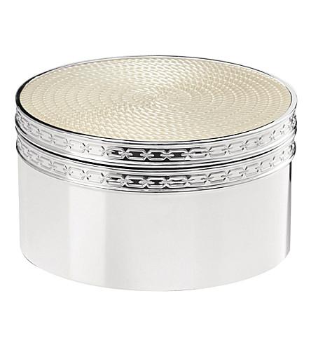 VERA WANG @ WEDGWOOD With love nouveau pearl treasure box