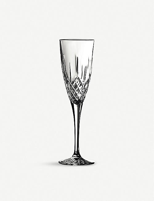 ROYAL DOULTON Earlswood champagne flute glass set of six