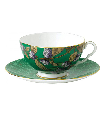 WEDGWOOD Tea garden green tea and mint three piece set