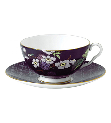 WEDGWOOD Tea garden blackberry three piece set