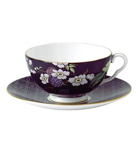 WEDGWOOD 茶叶花园黑莓三件套
