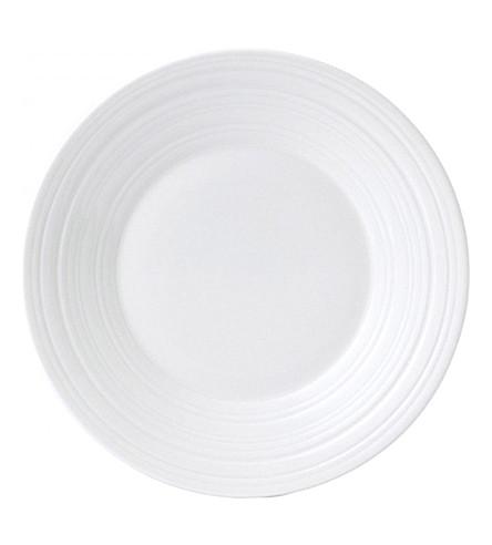 JASPER CONRAN @ WEDGWOOD Strata bone china plate 20cm