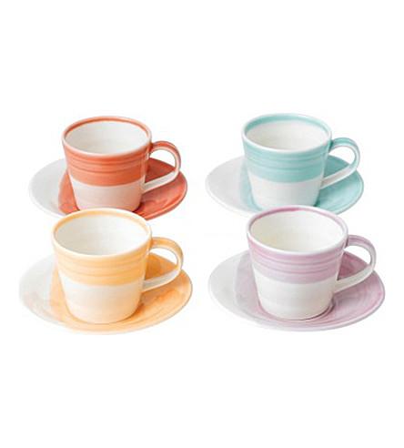 ROYAL DOULTON 1815 espresso cup & saucer set