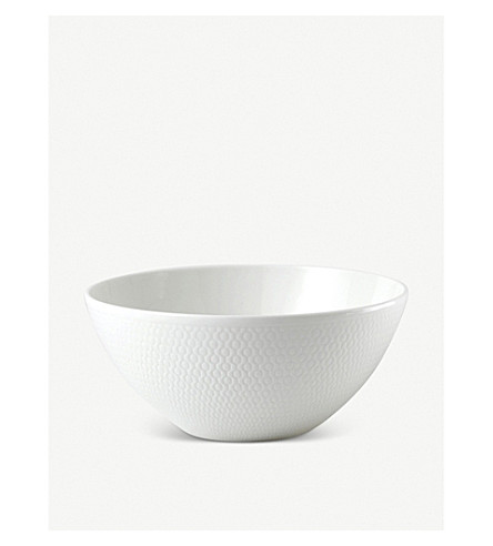 VERA WANG @ WEDGWOOD Gio fine bone china soup/cereal bowl 16cm