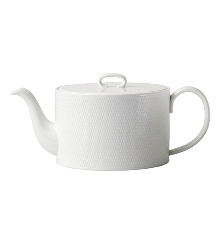 VERA WANG @ WEDGWOOD Gio fine bone china teapot 1L
