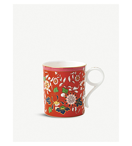 WEDGWOOD Wonderlust Collection ornamental scroll mug