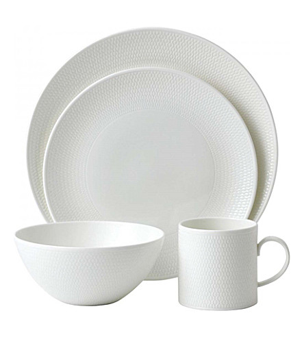 VERA WANG @ WEDGWOOD Gio fine bone china 16 piece dining set