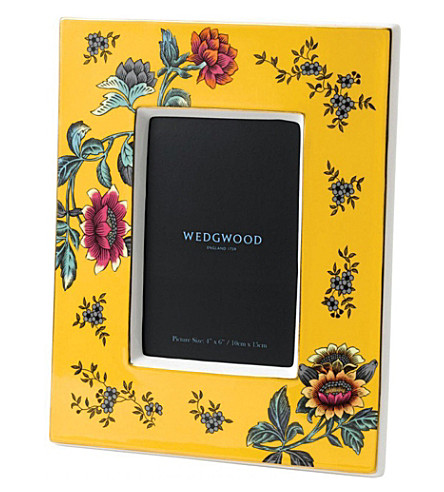 WEDGWOOD Wonderlust Yellow Tonquin photo frame 4