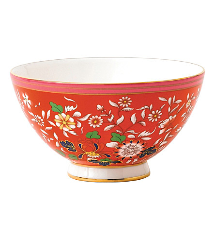 WEDGWOOD Wonderlust Collection Crimson Jewel bowl