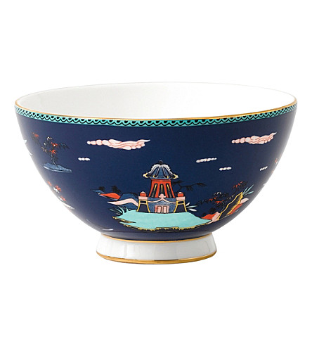 WEDGWOOD Wonderlust Collection pagoda jewel bowl