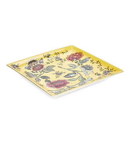 WEDGWOOD Wonderlust Yellow Tonquin China gift tray