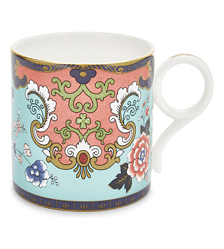 WEDGWOOD Wonderlust Ornamental Scroll China mug
