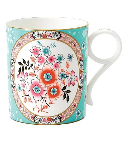 WEDGWOOD Camellia floral-print China mug
