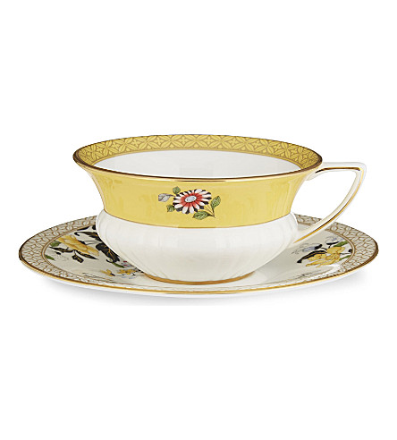 WEDGWOOD Wonderlust Primrose teacup and saucer