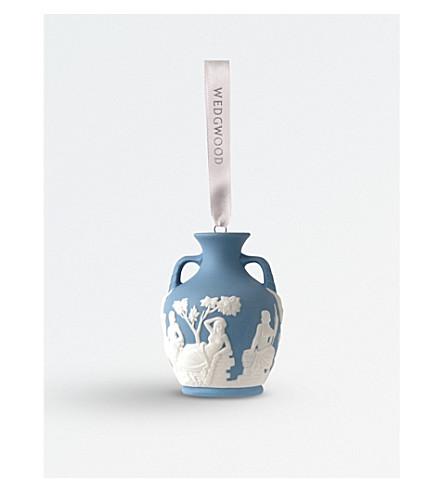 WEDGWOOD 'Portland Vase' porcelain tree decoration