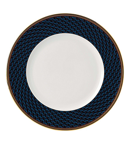 WEDGWOOD Byzance fine bone china and 22ct gold salad plate