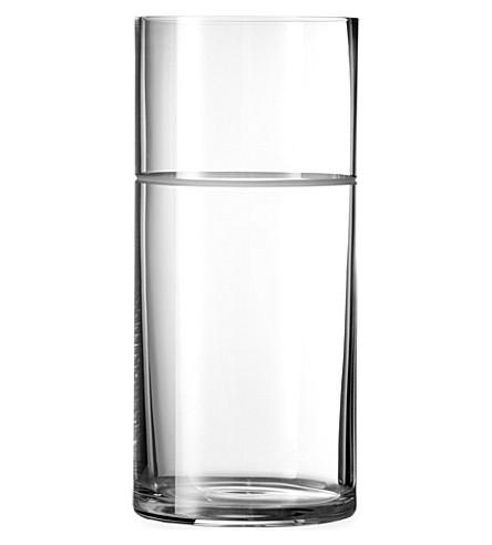 VERA WANG @ WEDGWOOD Bande crystalline vase 28cm