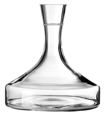 VERA WANG @ WEDGWOOD Bande crystal wine decanter