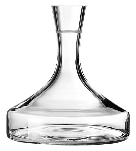 VERA WANG @ WEDGWOOD Bande crystal wine decanter
