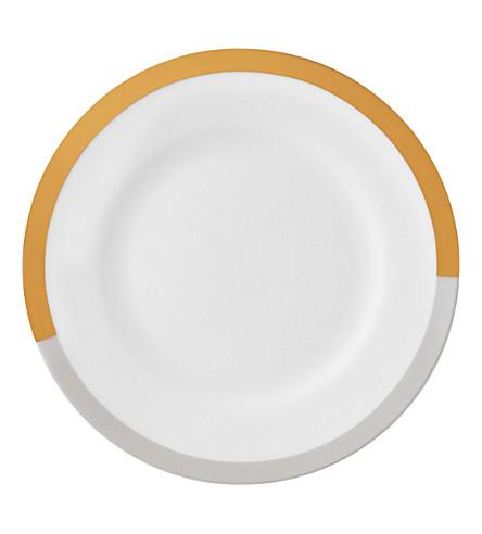 VERA WANG @ WEDGWOOD Castillon fine bone china rim soup plate 23cm