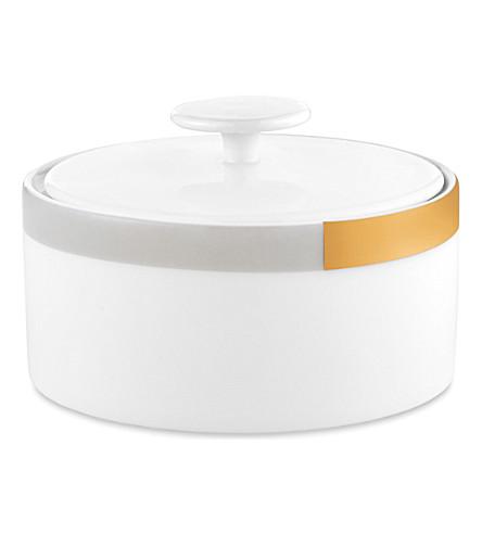 VERA WANG @ WEDGWOOD Castillon fine bone china sugar pot 4.5cm