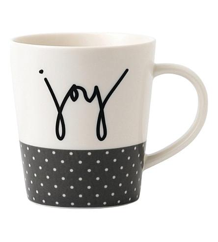 ROYAL DOULTON Ellen DeGeneres Joy porcelain mug