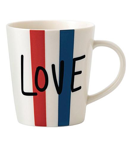 ROYAL DOULTON Ellen DeGeneres Love porcelain mug