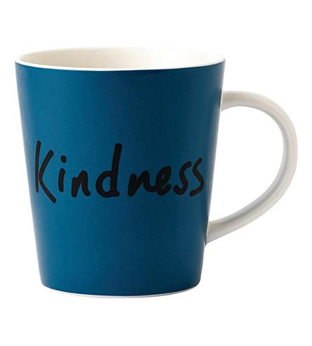ROYAL DOULTON Ellen DeGeneres Kindness porcelain mug
