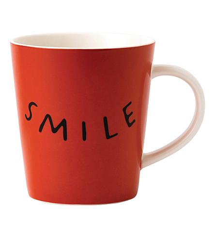 ROYAL DOULTON Ellen DeGeneres Smile porcelain mug