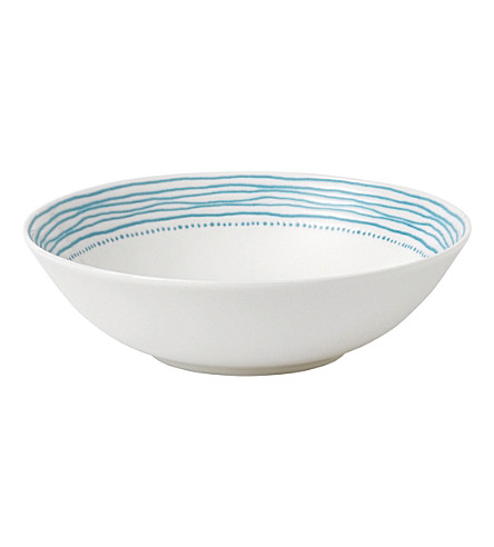 ROYAL DOULTON Ellen DeGeneres Polar Blue porcelain bowl 20cm