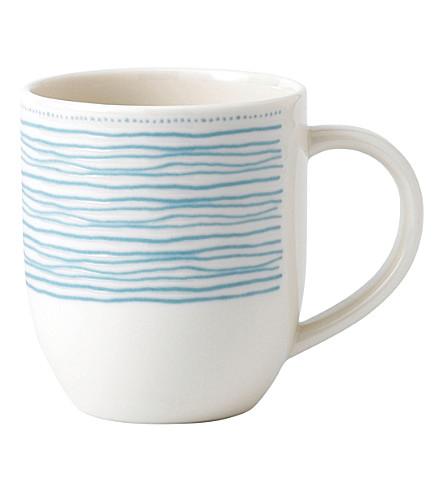 ROYAL DOULTON Ellen DeGeneres Polar Blue porcelain mug