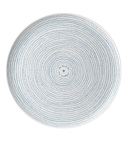 ROYAL DOULTON Ellen DeGeneres Polar Blue porcelain platter