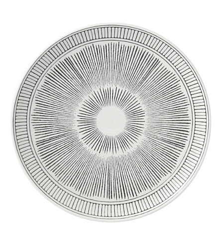 ROYAL DOULTON Ellen DeGeneres Charcoal Grey porcelain plate