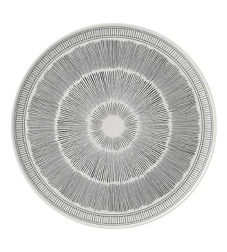 ROYAL DOULTON Ellen DeGeneres Charcoal Grey porcelain platter 32cm