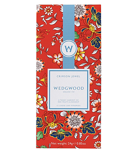 WEDGWOOD Wonderlust Crimson Jewel tea 24g