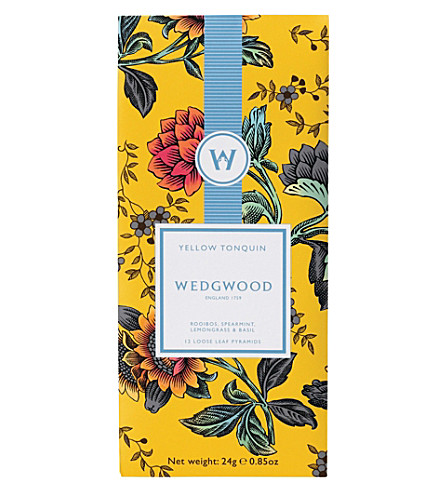 WEDGWOOD Yellow Tonquin loose leaf tea