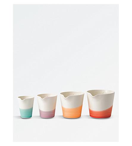 ROYAL DOULTON 1815 Nesting porcelain jugs set of four