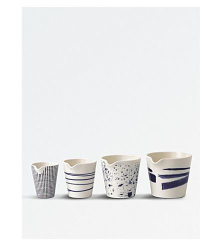 ROYAL DOULTON Pacific porcelain nesting jugs set of four