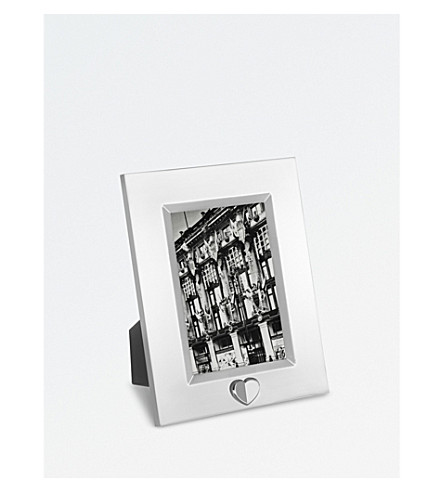 VERA WANG @ WEDGWOOD Love Always silver photo frame 4x6