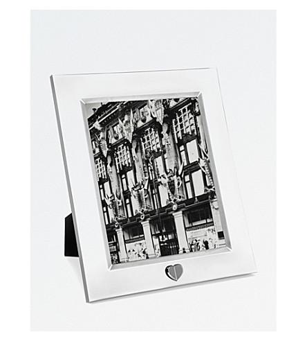 VERA WANG @ WEDGWOOD Love Always silver photo frame 8x10