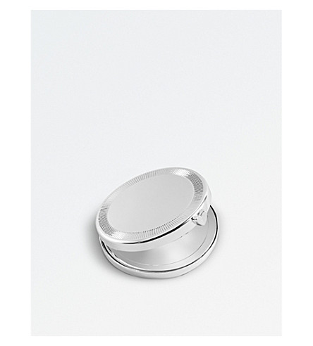 VERA WANG @ WEDGWOOD Love Always silver-plated compact mirror