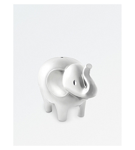 VERA WANG @ WEDGWOOD 爱总是象 silverplated MONEY BOX