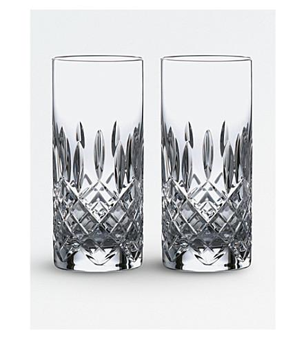 ROYAL DOULTON Highclere 水晶玻璃高帮球 (套 2)