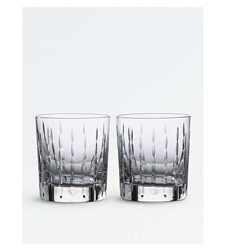 ROYAL DOULTON Set of two Neptune tumblers