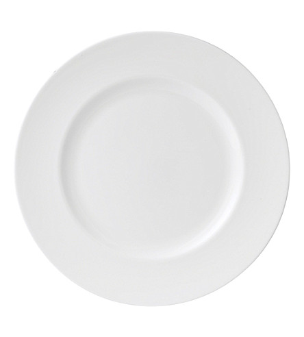 WEDGWOOD White plate 15cm