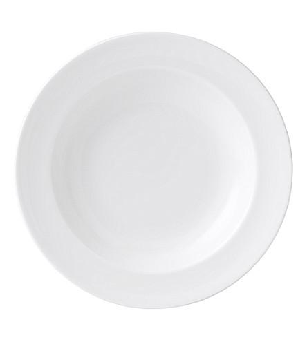 WEDGWOOD 白汤盘23厘米