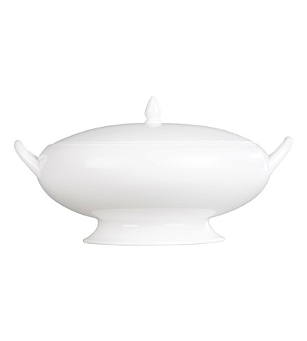 WEDGWOOD White oval serving dish 26cm