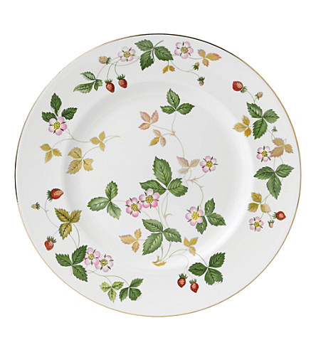 WEDGWOOD Wild Strawberry 18cm plate